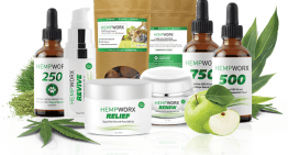 Hempworx Full Spectrum 500mg & 750mg Oils